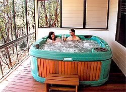 Treetops Lodge spa
